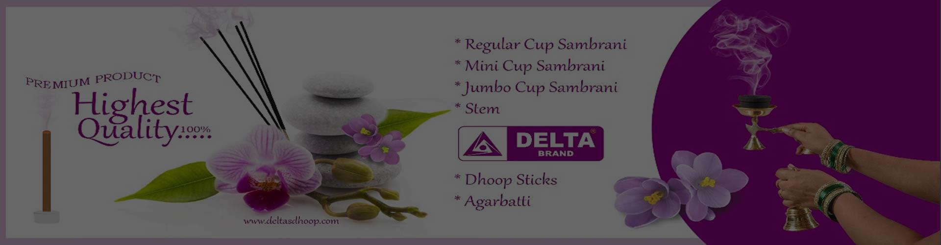 Deltas Trade Link - Best Dhoop manufacturer in India